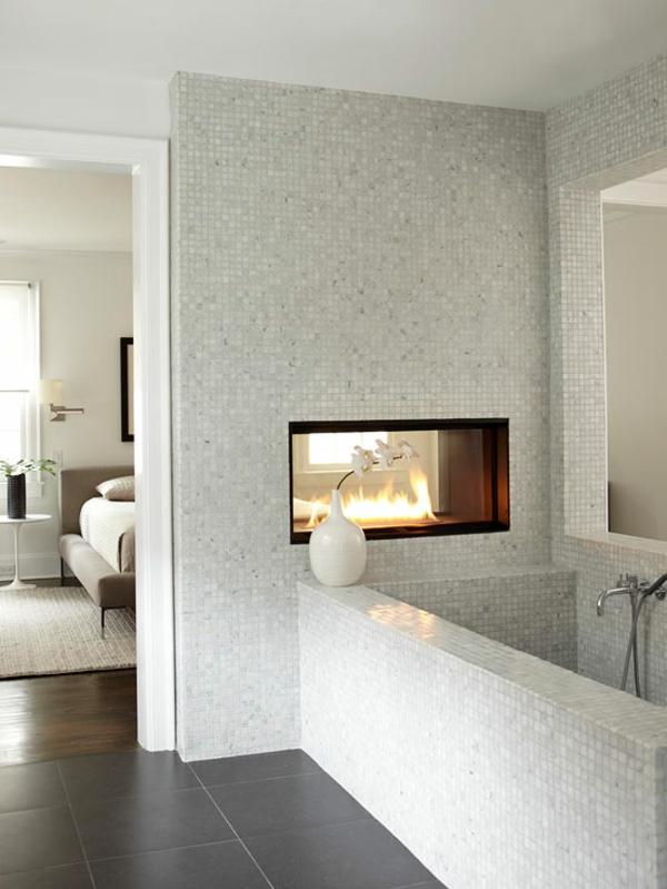 kamine und feuerstellen bieten wärme und komfort zu hause - Kamin Als Trennwand