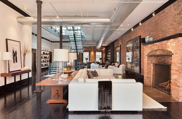 Moderne wohnzimmer mit treppe  Treppen aus Glas für eine zeitgenössische Erscheinung