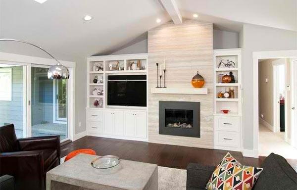 tv wohnwand im modernen wohnzimmer - 15 inspirierende beispiele, Wohnzimmer