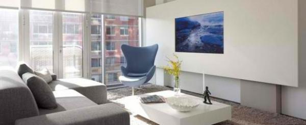 tv wohnwand im modernen wohnzimmer - 15 inspirierende beispiele - Wohnwand Ideen Selber Machen