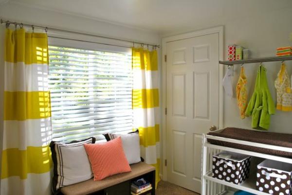 vorhang und gardinendekoration beispiele