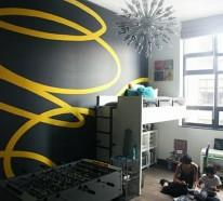 Coole Streichideen für Wände