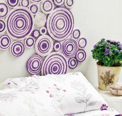 wandbilder selber malen wohnen und deko basteln. Black Bedroom Furniture Sets. Home Design Ideas