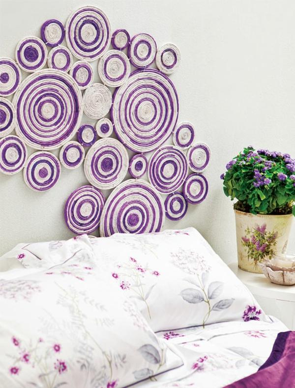 Wandbilder selber malen – Wohnen und Deko basteln