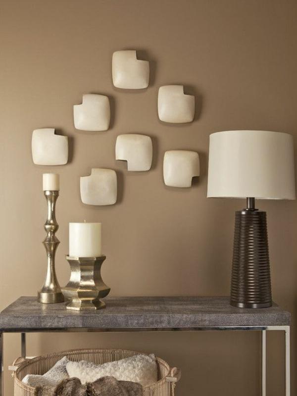 wandfarbe mocca - wände streichen in eine kaffeebraune farbnuance - Wandfarbe Beige Braun