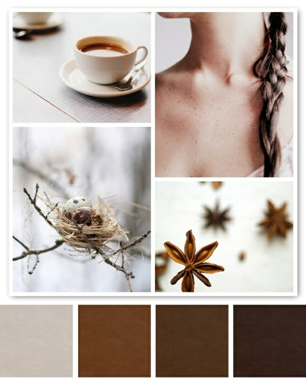 wandfarbe mocca mokka kaffee inspiration braunfarben beige