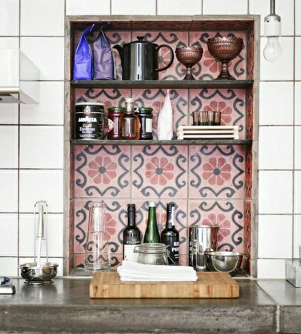 Wandfliesen für die Küche - - tolle Küchenausstattung Ideen
