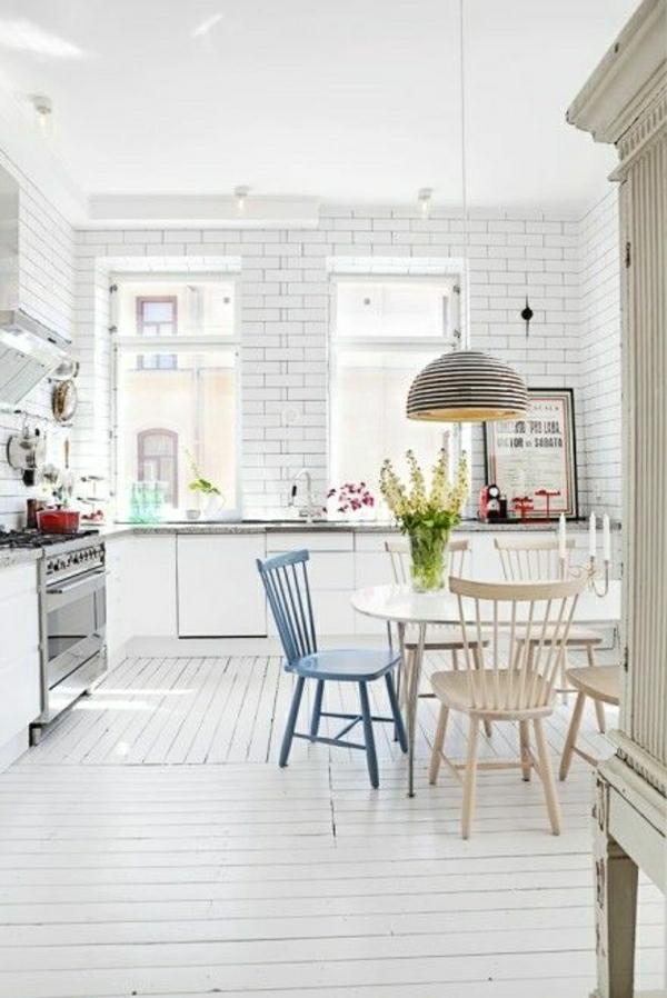 wandfliesen für die küche weiß einrichtung