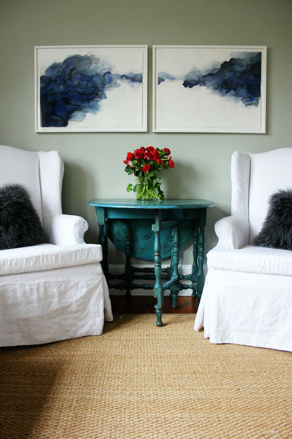 wandgestaltung wohnzimmer wanddeko kreativ kunst