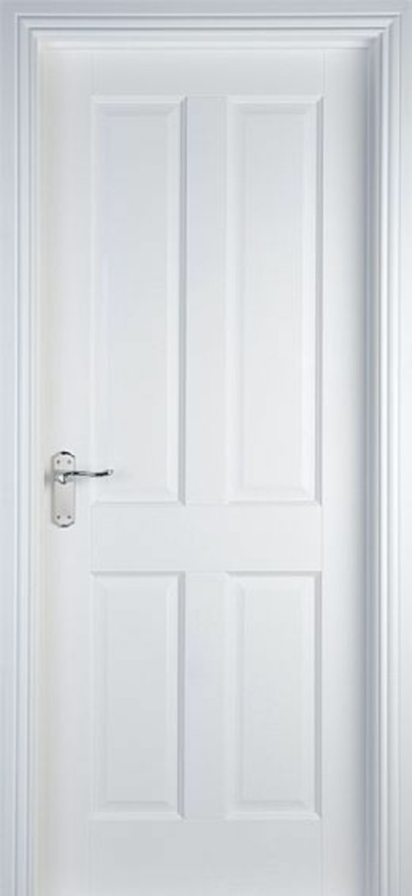 weiße innentüren 4 paneele