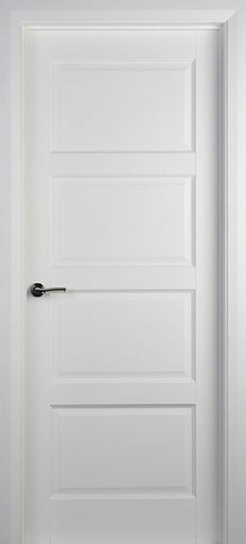 weiße innentüren design schlicht