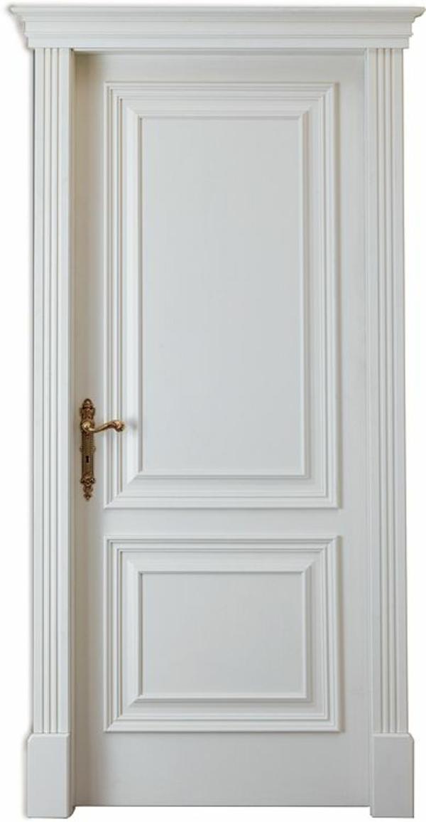 Weiße Innentüren Design Justierbarer Türgriff