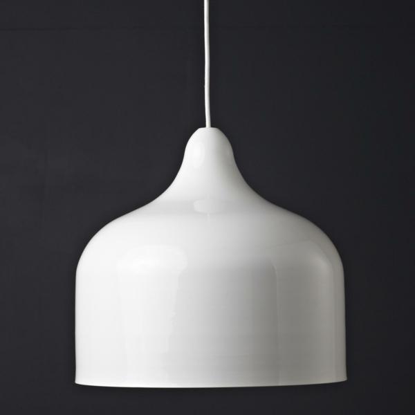 weiße pendelleuchte aluminium pvc