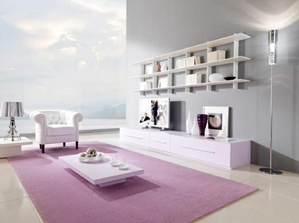 wohnzimmer grün türkis - Wohnzimmer Farbgestaltung Modern