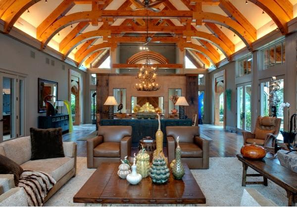 18 Wohnzimmer Designs Mit Gewölbedecken | Innenarchitektur ...