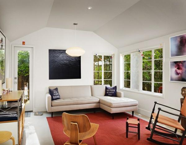 wohnzimmer designs mit gewölbedecken