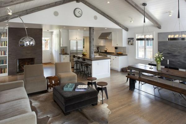 wandfarbe brauntöne - wärme und natürlichkeit, Wohnzimmer dekoo