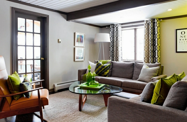 wohnzimmer möbel ideen bodenlampe lampen und leuchten moderne beleuchtung