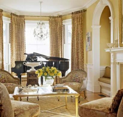 Wohnzimmer m bel wenn das klavier dazu z hlt 15 beispiele - Klavier fliesen ...