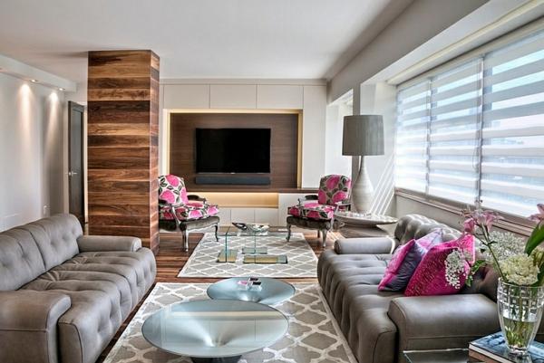 wohnzimmer möbel sofa couchtisch holzboden läufer stehlampe