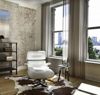 natur wand im wohnzimmer haus design ideen