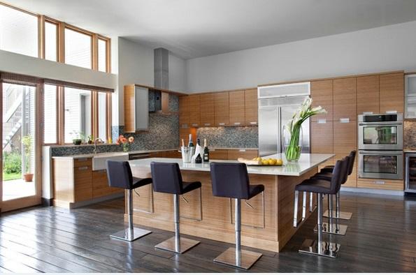 Fantastisch 15 Atemberaubende Moderne Küchen In Der L U2013 Form | Einrichtungsideen ...