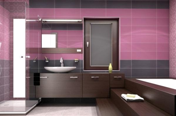 Altrosa Wandfarbe farbgestaltung wände beispiel