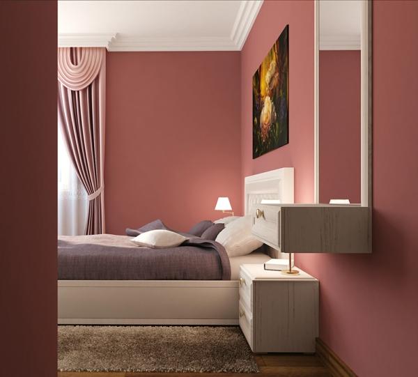 Altrosa als wandfarbe frische farbgestaltung for Kinderzimmer altrosa