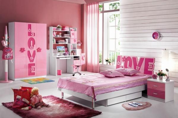 Altrosa als Wandfarbe farbgestaltung wände schlafzimmer