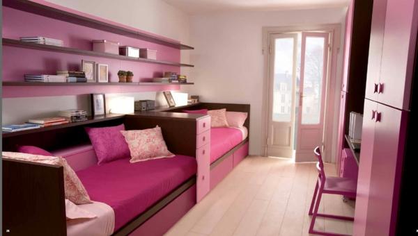 Altrosa Wandfarbe farbgestaltung wände sofa schwarz