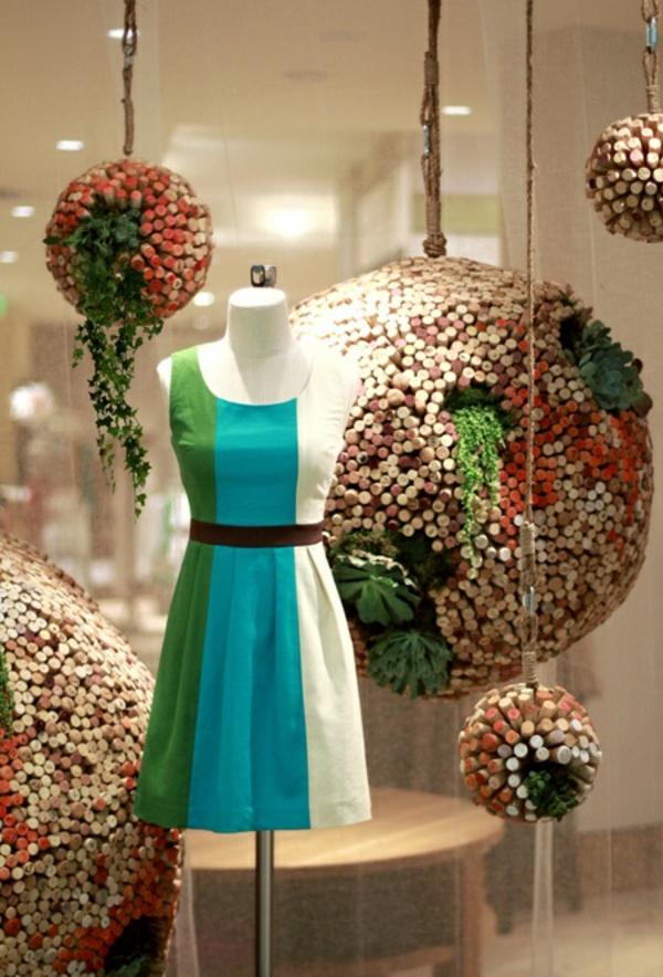 Basteln mit Korken dekoartikel kugel kleiderf shop