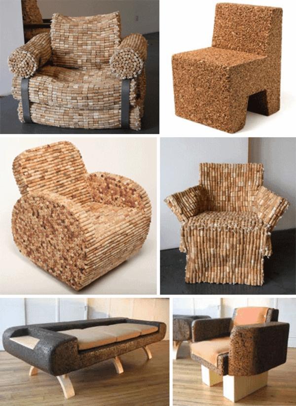 basteln mit korken coole dekoartikel und m bel. Black Bedroom Furniture Sets. Home Design Ideas