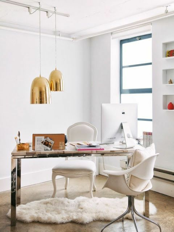 Beleuchtungsideen fürs Wohnzimmer cool wohnzimmerlampen büro