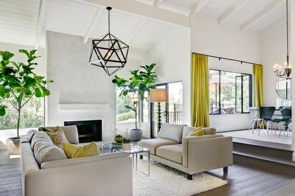 Wohnzimmer cool wohnzimmerlampen Beleuchtungsideen bodenbelag