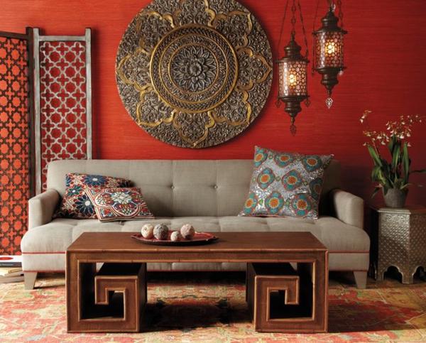 Beleuchtungsideen fürs Wohnzimmer cool wohnzimmerlampen orientalisch