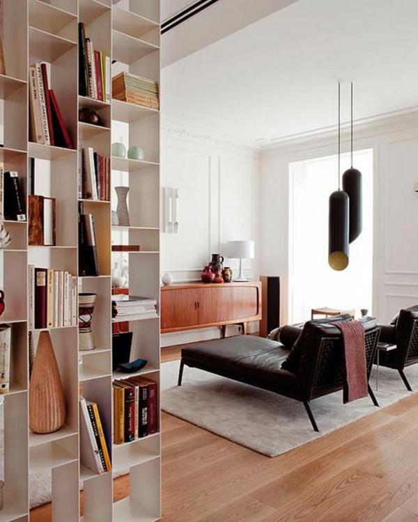 Beleuchtungsideen bücher Wohnzimmer cool wohnzimmerlampen regale