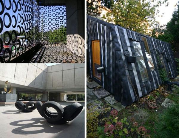 DIY Möbel aus Autoreifen autoreifen recycling anwendung