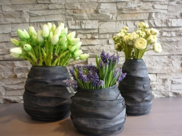 100 diy m bel aus autoreifen altreifen recycling - Decoration jardin avec des pneus ...