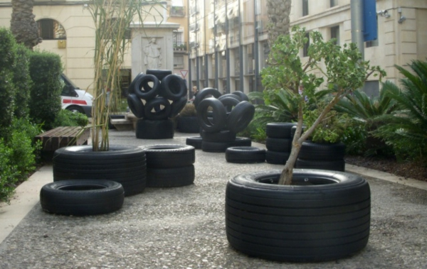 autoreifen recycling set stücke DIY Möbel