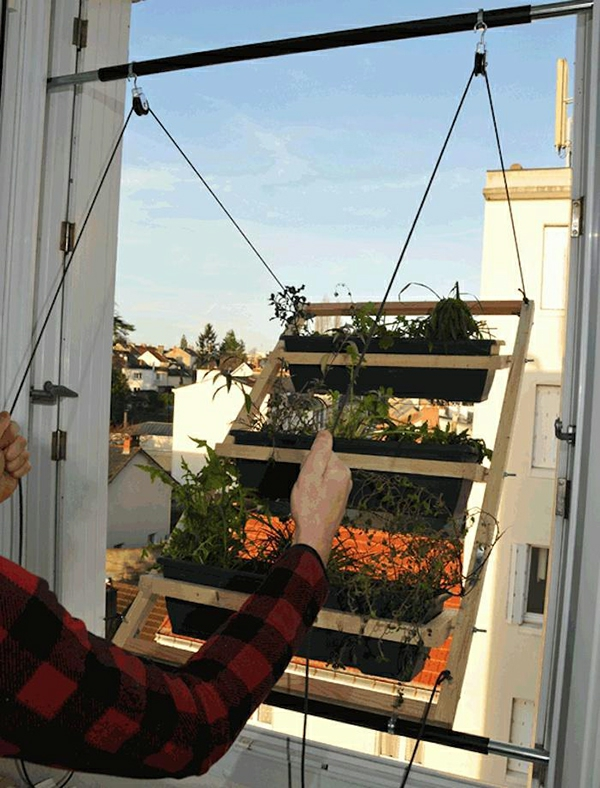 DIY gemüsegarten terrasse gartenideen