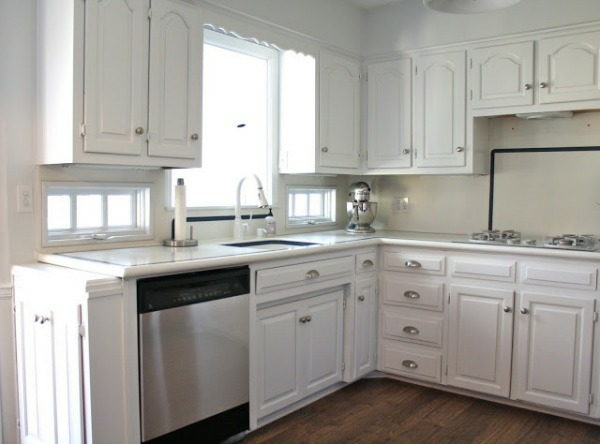 U Shaped Apartment Kitchen Remodel