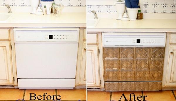 DIY wohnideen spülmaschine erneuern coole bastelideen
