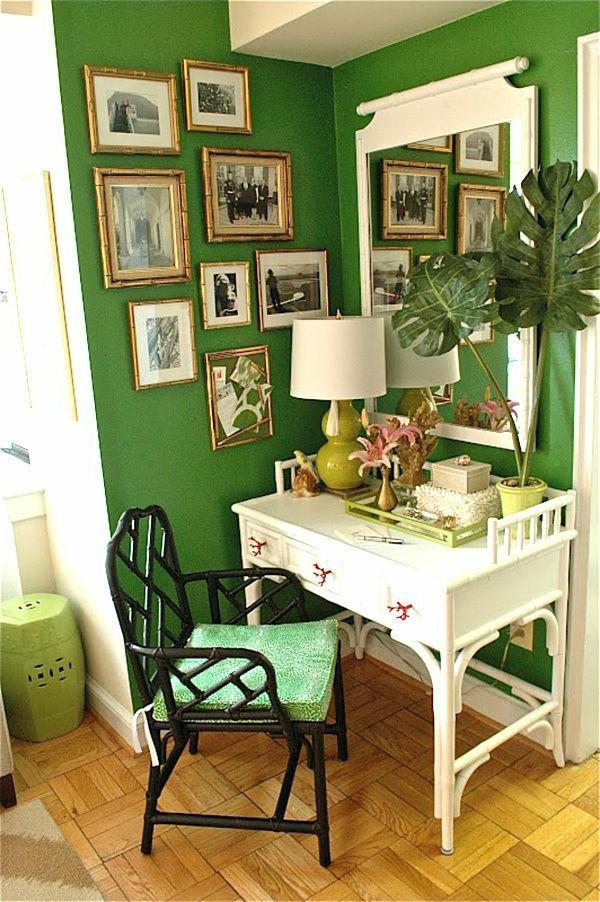 Die Farbe Grün - Farbbedeutung von Grün und 30 grüne Wohnideen