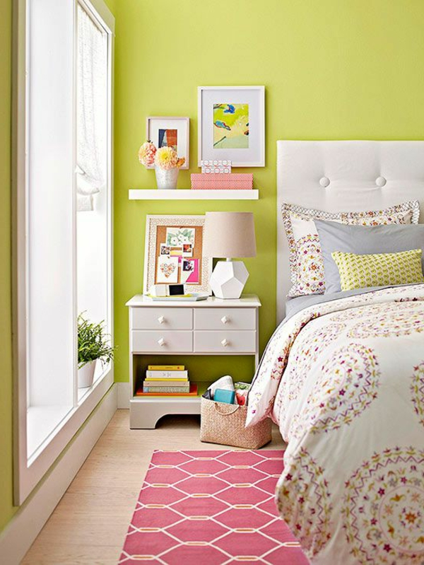 Die Farbe Grün Farbbedeutung von Grün frisch wandfarbe