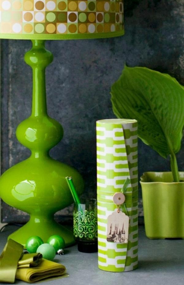 Die Farbe Grün Farbbedeutung von Grün lampenfuß tischlampe