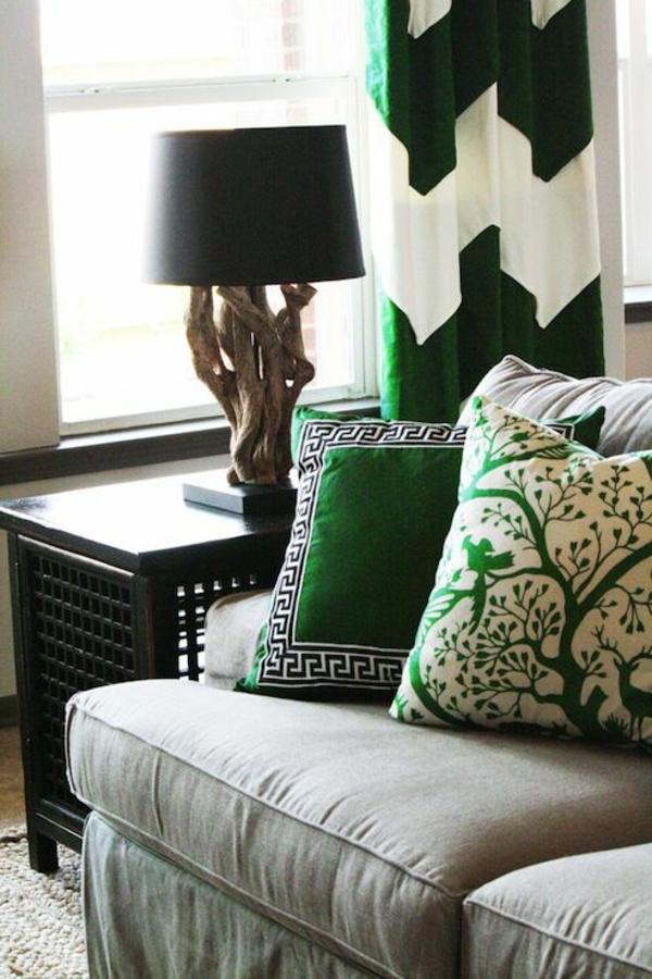 Farbe Grün Farbbedeutung Grün motive muster