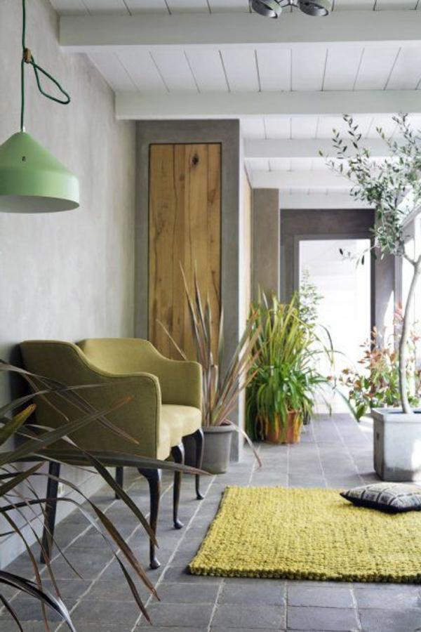 Die Farbe Grün Farbbedeutung von Grün teppich
