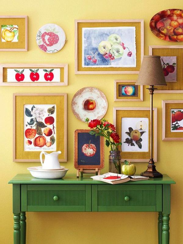 Die Farbe Grün Farbbedeutung von Grün tisch schubladen dekoartikel