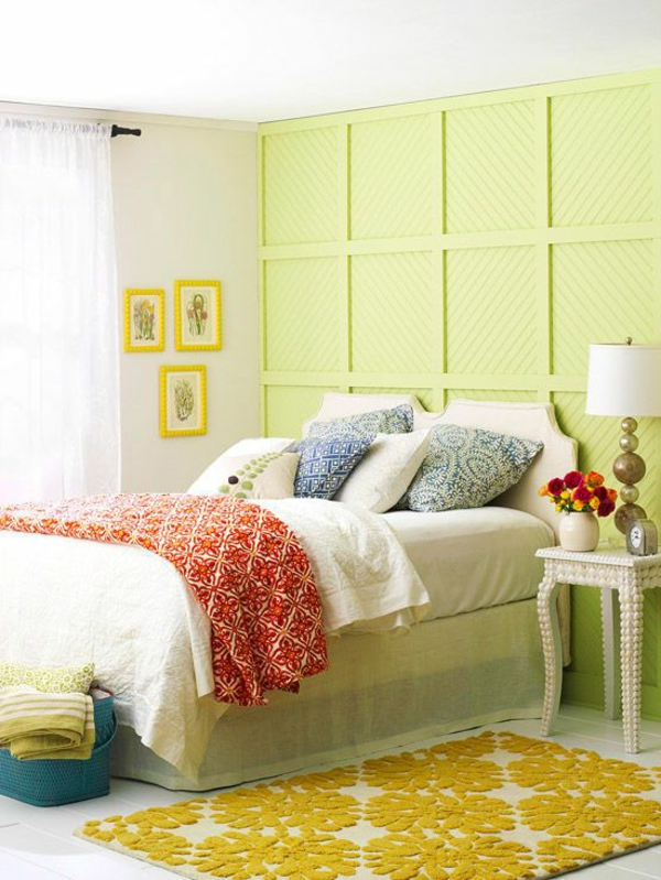 Farbe Grün Farbbedeutung Grün wand