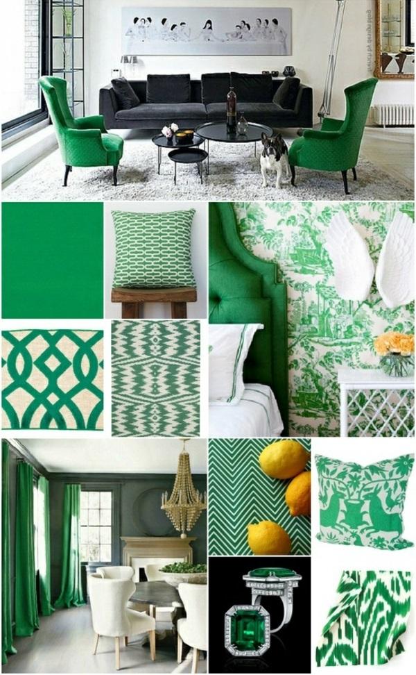Die Farbe Grün Farbbedeutung Grün wohnen